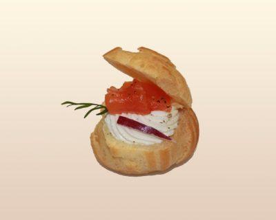 Choux crème aneth & saumon